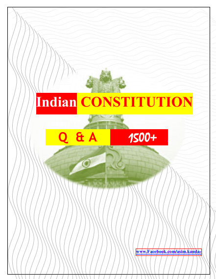 PDF] Indian constitution 1500+ One Line Question-Answer