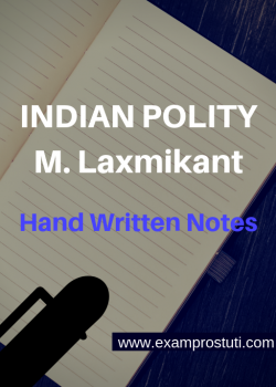 Indian Polity M. Laxmikant Handwritten Notes